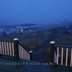 Kitchen Island Top Replacing Sink Sprayer Hose Night Fog Battle Harbour Southern Labrador Canada - Photo ...