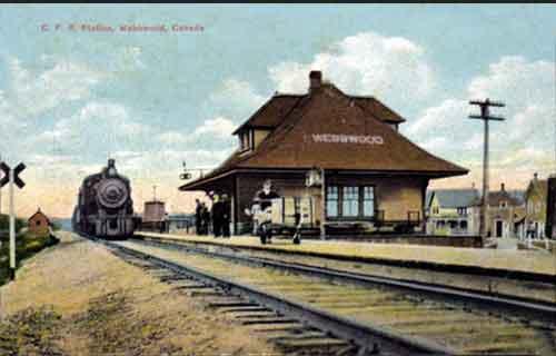 Railway stations in Webbwood Ontario