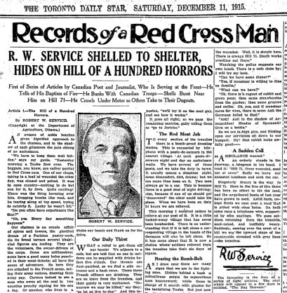 Record-of-a-Red-Cross-Man,-Toronto-Star-article,-11.12.1915