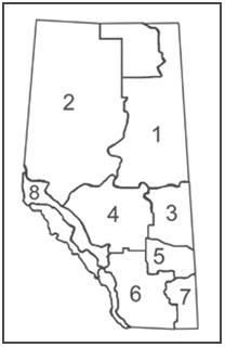 Hunting regulations for migratory birds: Alberta 2016 to