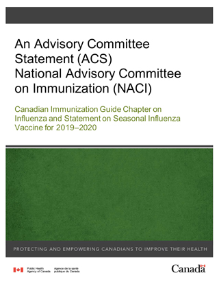 Canadian Immunization Guide Chapter on Influenza and Statement on ...