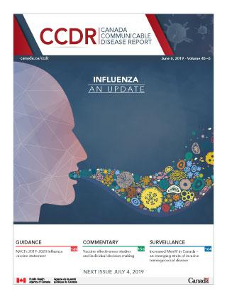 CCDR: Volume 45-6 June 6 2019: Influenza: An update ...