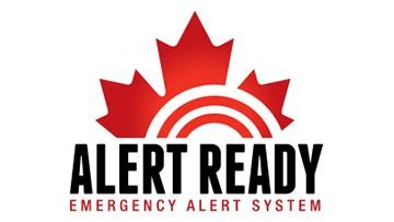 Alert Ready - Emergency alert system Opens in new window