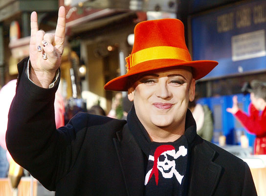 British singer and musician Boy George was born June 14, 1961