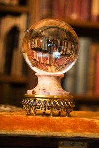 Laurier House Crystal Ball © Lucy Izon