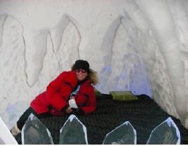 Lucy Izon @ Ice Hotel