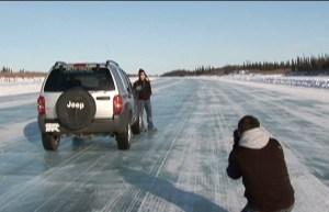 Ice Road photo courtesy NWT Tourism