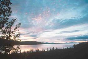 Midnight Sun photo courtesy Yukon Tourism