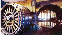 Bank Vault courtesy One King West