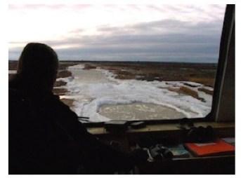 Tundra Pot Holes Churchill @ Lucy Izon