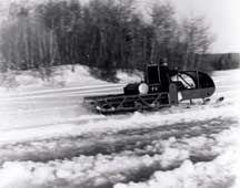 Photo: Snowmobile protype - J. Armand Bombarier Museum