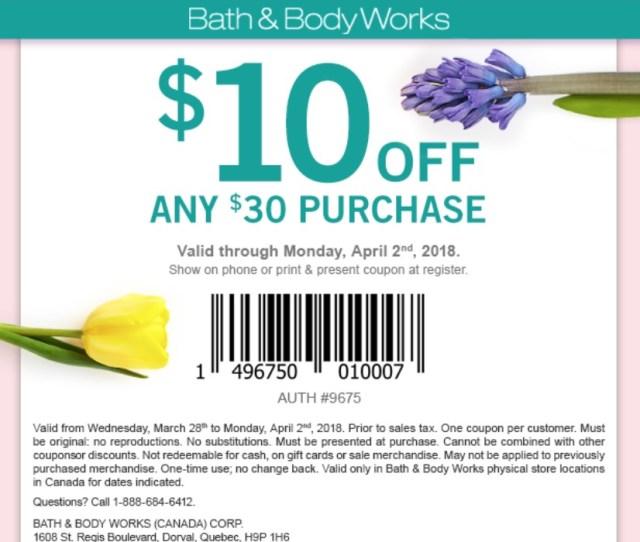 Bath Body Works Has A