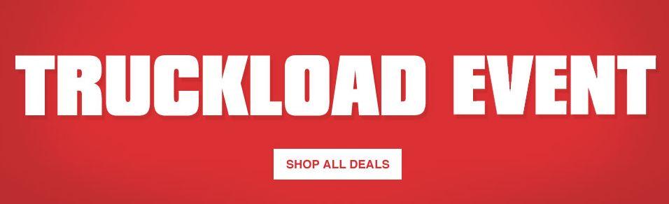 lowes kitchen cabinets sale remodel software lowe s truckload event 特卖现在开售 指定款商品5折起特卖 卫生间家具