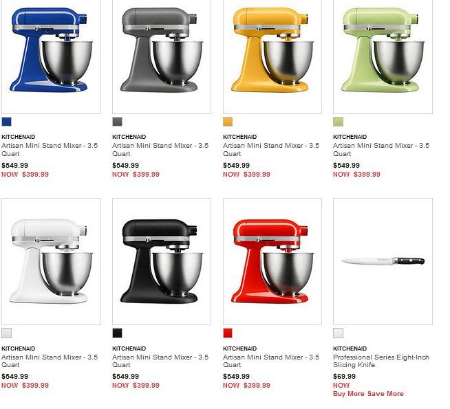 kitchen aid 5 qt mixer sinks & faucets kitchenaid artisan 3 5夸脱迷你直立式搅拌机339 99特卖 多种颜色可选 多种颜色可