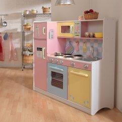 Kid Craft Kitchen Plate Sets Kidkraft 53181大型仿真厨房159 99加元 原价259加元 加拿大打折网