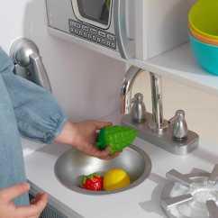 Retro Kids Kitchen Cabinet Manufacturers Canada 近史低价 Kidkraft 53208 白色复古款儿童仿真厨房4 6折119 99加元包邮 99