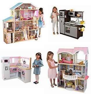 kidkraft toy kitchen corner cabinet storage 历史新低 精选12款kidkraft 玩具娃娃屋 儿童仿真厨房4 8折起 最好的 8