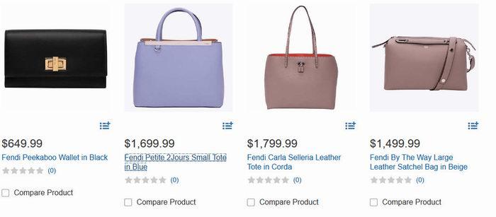 精選 4款 Fendi錢包,手提包 649.99加元起特賣!_加拿大打折網