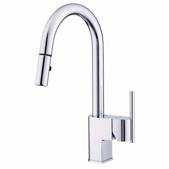 pull out kitchen faucets hood cleaning 超级白菜 danze d454442 como trim line 可拔出式厨房水龙头1 7折79 82 7折