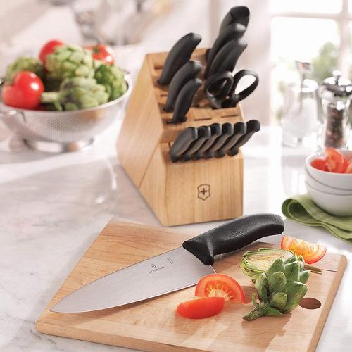 cool kitchen knives cement tile 刀具 加拿大打折网 victorinox swiss army瑞士军刀经典款15件套厨房刀具套装5 9折231 99