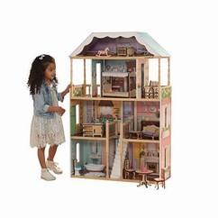 Kidkraft Toy Kitchen Black Knobs 历史新低 精选20款kidkraft 玩具娃娃屋 儿童仿真厨房 火车玩具桌