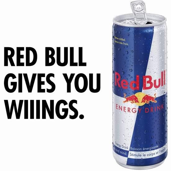 歷史最低價!Red Bull 紅牛能量飲料4罐×250毫升 6.62加元包郵!_加拿大打折網
