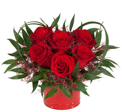 love romance flowers heart