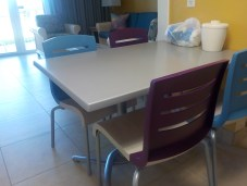 New dining tables & chairs