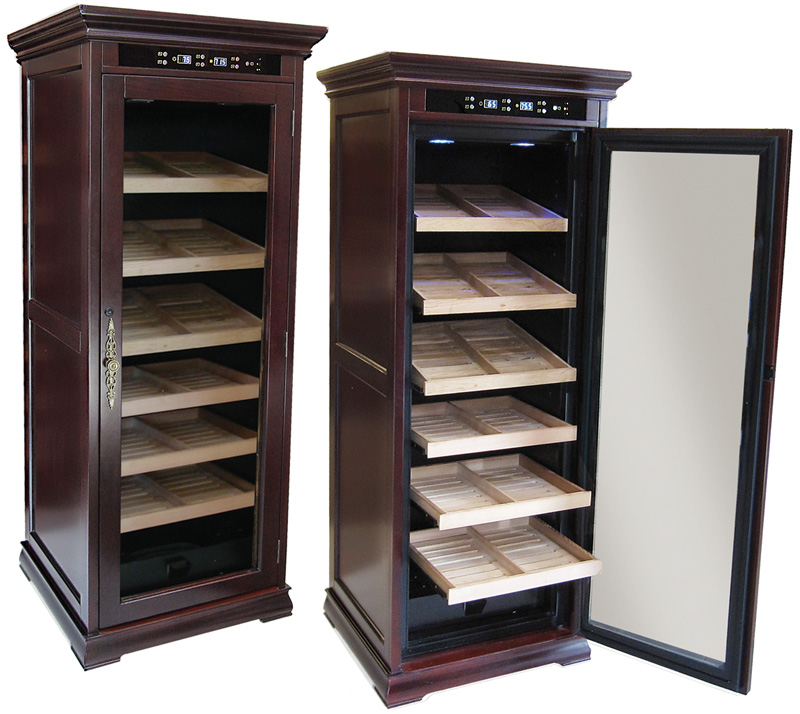 Remington Climate Controlled Cigar Humidor Cabinet