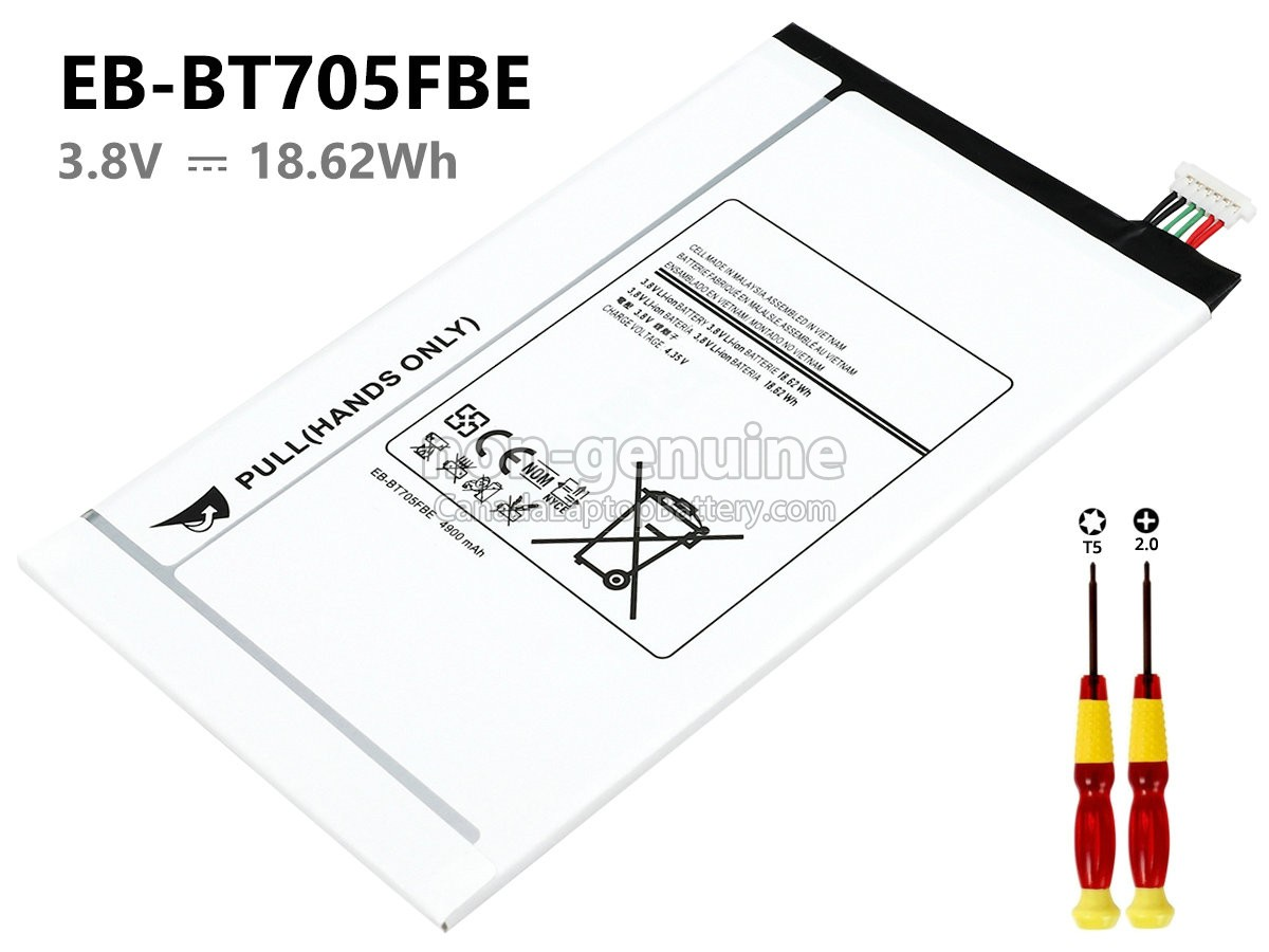 Samsung Galaxy TAB S 8.4 long life replacement battery