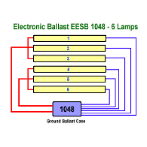 Allanson EESB104826L120277V Electronic Fluorescent Sign Ballast ** Replace 696AT 120V