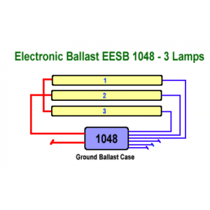 Allanson EESB104826L120277V Electronic Fluorescent