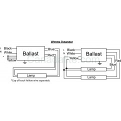 Advance Sign Ballast Wiring Diagram Cummins N14 Engine T5 Electronic Circuit Great Installation Of Sylvania Quicktronic 43 Voltage T8