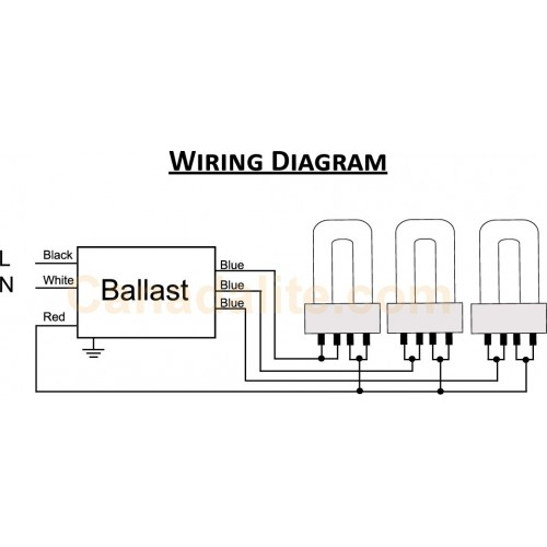 2 L T8 Ballast Wiring Diagram Fluorescent Light Ultrasave Ut340120mb 3 Lamp Ft40w 2g11 Biax Pl L L