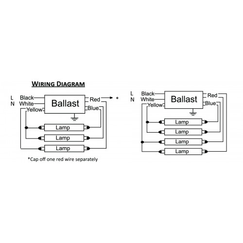 3 l ballast wiring diagrams parallel 1 l ballast wiring diagram