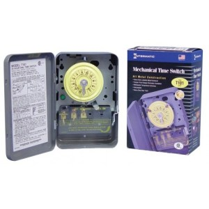 Intermatic  T10170  SPST  Mechanical Time Switch  24