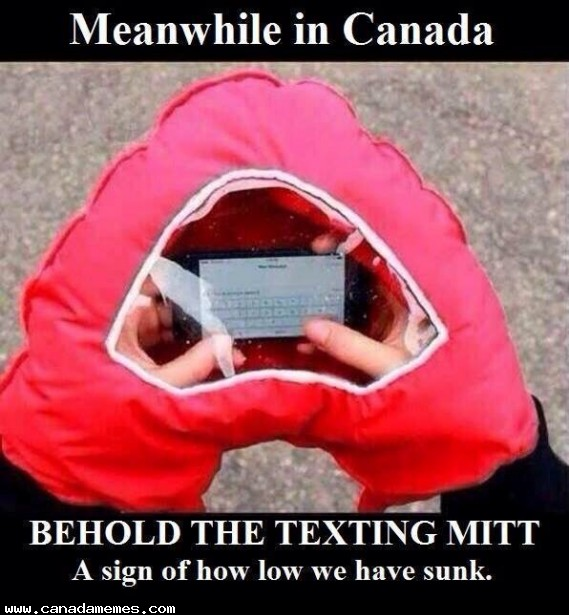 Canada solving the REAL issues