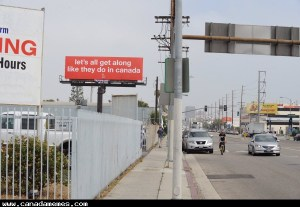 A Canadian rapper put up a billboard in LA and it's going viral