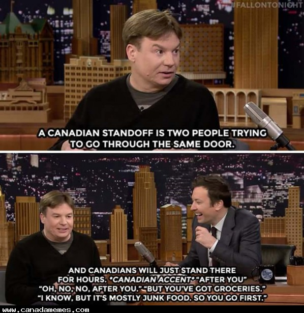 Mike Myers - A national treasure