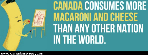 🇨🇦 We do love our Mac and Cheese