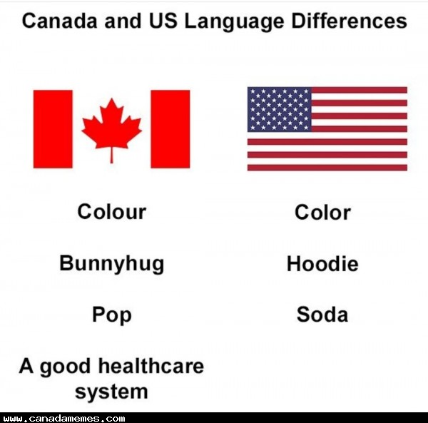 🇨🇦 Subtle differences between US & Canada
