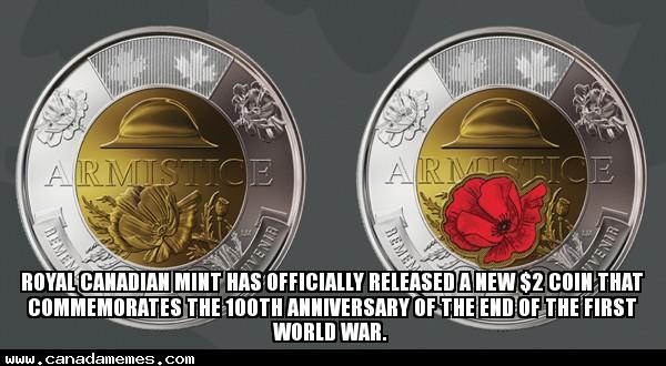 🇨🇦 Canadas New $2 Coin