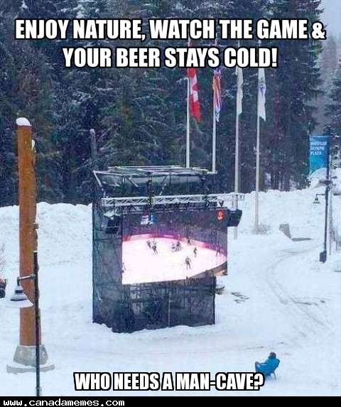 🇨🇦 Who needs a man-cave?