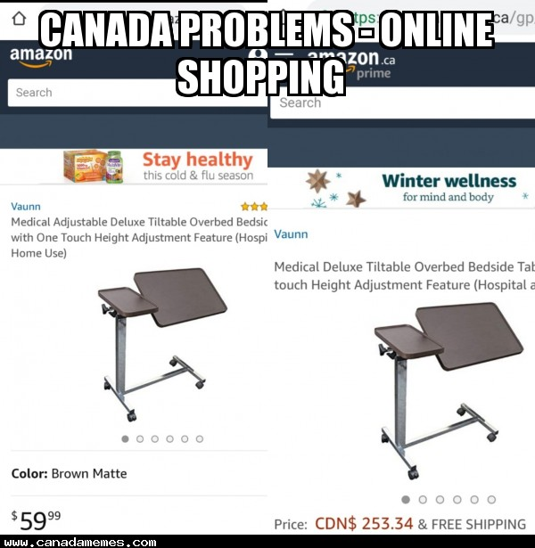 🇨🇦 Canada Problems - online shopping