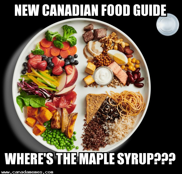 🇨🇦 New Canadian Food Guide - WHERE'S THE MAPLE SYRUP???
