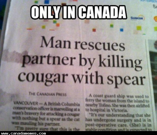 🇨🇦 Just a day in the life of a normal Canadian