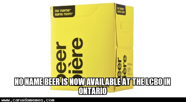 🇨🇦 Has anyone tried the No Name Beer From The LCBO In Ontario
