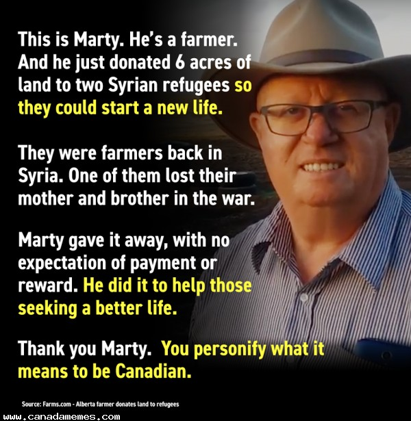 🇨🇦 The world needs more people like Marty