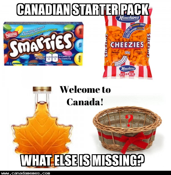 🇨🇦 What else is missing in this Canadian Starter Pack? Comment below!