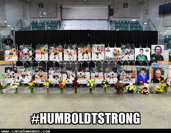 🇨🇦 One year later #HumboldtStrong!